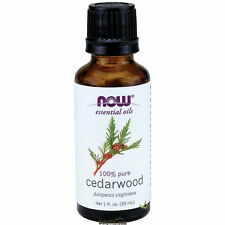 NOW® 100% Pure & Natural Cedarwood Oil - 1 oz, Clearance for stained/ dented