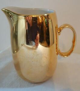 Royal Worcester gold lustre large Milk Jug (1+ pint)