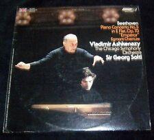 """Beethoven Piano Concerto No. 5 in E Flat Op 73 """"Emperor"""" LP Album 1973 Decca Rec"""