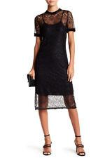 Free Press Short Sleeve Lace Dress size large