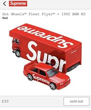 Supreme®/Hot Wheels™ Fleet Flyer + 1992 BMW M3 SS19 SOLD OUT CONFIRMED
