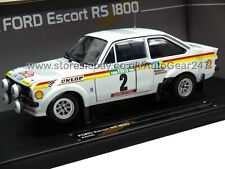 Ford Escort RS1800 2nd Rallye De Portugal 1977 1:18 Scale Model Limited Edition