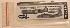 Dutch Decal 1/48 Fokker D-XXI, Kingfisher en Boston MLD 48026