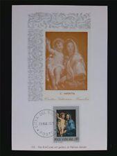 VATICAN MK 1971 MADONNA & JESUS CHRISTUS MAXIMUMKARTE MAXIMUM CARD MC CM c6228