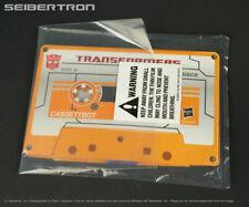 MP-15/16 COLLECTOR COIN Cassettbot vs Cassetttron Transformers Masterpiece Asia