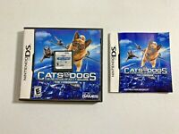 Cats and Dogs: The Revenge of Kitty Galore (DS/2DS/3DS, 2010) - COMPLETE, TESTED