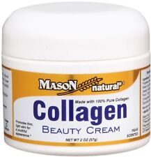 Collagen Beauty Cream, Mason Naturals, Pear Scented 2 oz (57g) Anti-Ageing