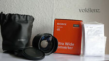 SONY SEL075UWC 21mm Ultra Wide Angle Conversion Lens for SEL28F20 E-MOUNT NEX