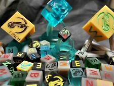 1cm Scale Cubes (3 for $20 with free USA freight) 3D Printed - Hand Painted