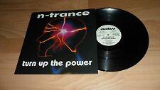 "N-TRANCE - TURN UP THE POWER (RARE DELETED 12""  VINYL SINGLE - 1994 OLD SKOOL)"