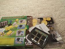 Solar Deluxe educational kit musical unit plastic lamp fan motor plastic adaptor