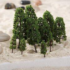 20pcs Train Model Trees Wargame Scenery Layout Diorama 1:100-300 HO N Z Scale