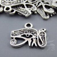 Africa Charms 24mm Silver Plated Continent Pendants SC0078774-4//15//30PCs