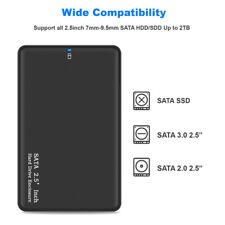 2 TB USB 3.0 tragbare externe Festplatte Ultra Slim SATA-Speichergeräte Fall