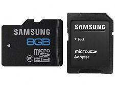 SAMSUNG 8GB MICRO SDHC CLASS 6 FOR SAMSUNG GALAXY A5 A7 J2 J3 J5 J7 CORE/II FIT