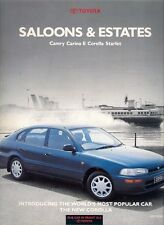 Toyota Starlet Corolla Carina Camry 1992 Edition 2 UK Market Sales Brochure