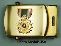 Saudi Arabian Liberation of Kuwait blue Web Belt &  brass buckle B770