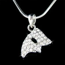 w Swarovski Crystal ~Phantom of the Opera Masquerade Mask Pendant Charm Necklace