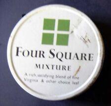 S2X -Scatola di latta FOUR SQUARE MIXTURE tabacco per pipa