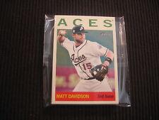 (10) 2013 TOPPS HERITAGE MINOR #20 MATT DAVIDSON CARD LOT  RENO ACES
