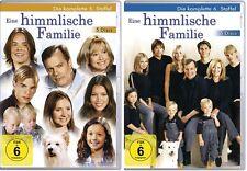 10 DVDs *  EINE HIMMLISCHE FAMILIE - STAFFEL 5 + 6 IM SET # NEU OVP  $