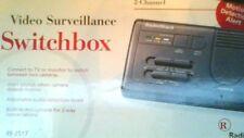 Radio Shack 2 channel Video Surveillance Switchbox - switch between 2 cameras