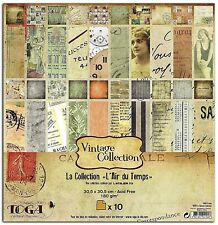 """Cardstock 12""""x12"""" Double Sided Paper Vintage Scrapbooking Art Crafts Card Making"""