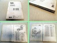 Yale GDP 040 050 060 EPW  Gabelstapler Ersatzteilliste parts list