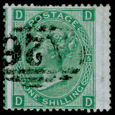 More details for sg117, 1s green plate 5, used. cat £40. a26 gibraltar. dd