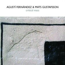 Agusti Fernandez - Critical Mass with Mats Gustafsson [New CD] Spain - Import