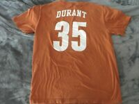 USED Texas Longhorns Nike Kevin Durant Shirt Large S Orange Warriors Nets NBA