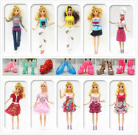 33 Styles of Handmade Barbie Clothes Dresses Shoes for 11 Inch Barbie Doll