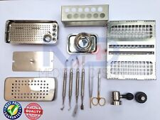 PRF Box GRF Complete Set with Dental Implant Bone Mill Crusher Grinder CE