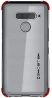 Clear LG V50 ThinQ 5G Shockproof Case with Anti-Slip Grip Thin Ghostek Covert 3