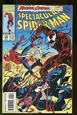 SPECTACULAR SPIDER-MAN #202 NM 9.4 MAXIMUM CARNAGE PART 9 1993 MARVEL COMICS
