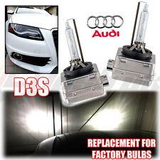 *2x AUDI A4 Sline D3S Factory Xenon HID Headlight Replacement Lamps Bulbs 35w