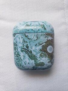 Airpod PVC Green Marble Case