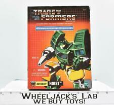 Autobot Hoist Commemorative Series V NEW Reissue G1 Transformers Hasbro