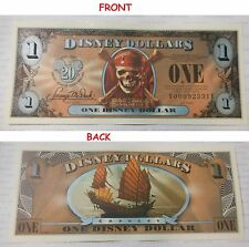 2007 Disney Dollar $1 FE Series Pirates Of The Caribbean EMPRESS AT WORLD'S END