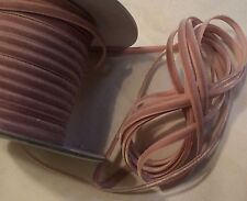 "1/8"" RAYON VELVET RIBBON  - MADE IN JAPAN  - DUSTY PINK - DOLLS / JEWELRY"