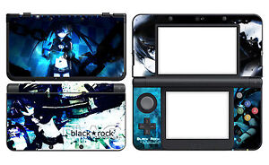 Black Rock 213 Vinyl Decal Skin Sticker Cover for Nintendo New 3DS 2015