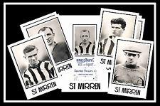 ST MIRREN - RETRO 1920's STYLE - NEW COLLECTORS POSTCARD SET
