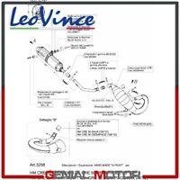 Scarico Completo Leovince X-Fight Hm Cre 50 Derapage/Baja 2013 13