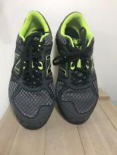 new balance 750 v1 Mens Running Shoes Gray Neons Geen Size 8 EUC