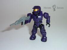 Halo Mega Bloks Set #97520 UNSC Purple Spartan with Battle Rifle