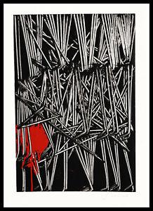 EMILIO SCANAVINO con autentica serigrafia