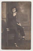Affectionate Stylish Handsome Young Man Mafia Mafioso Gangster Gay Int Photo 20s