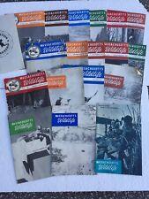 Vintage Massachusetts Wildlife Magazines Fishing Hunting Lot Of 19