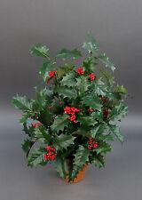 Ilexbusch 48cm im Topf DA künstlicher Ilex Kunstblumen Kunstpflanzen