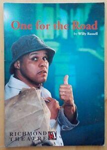 One For The Road programme Richmond Theatre 1999 Gary Wilmot Prue Clarke